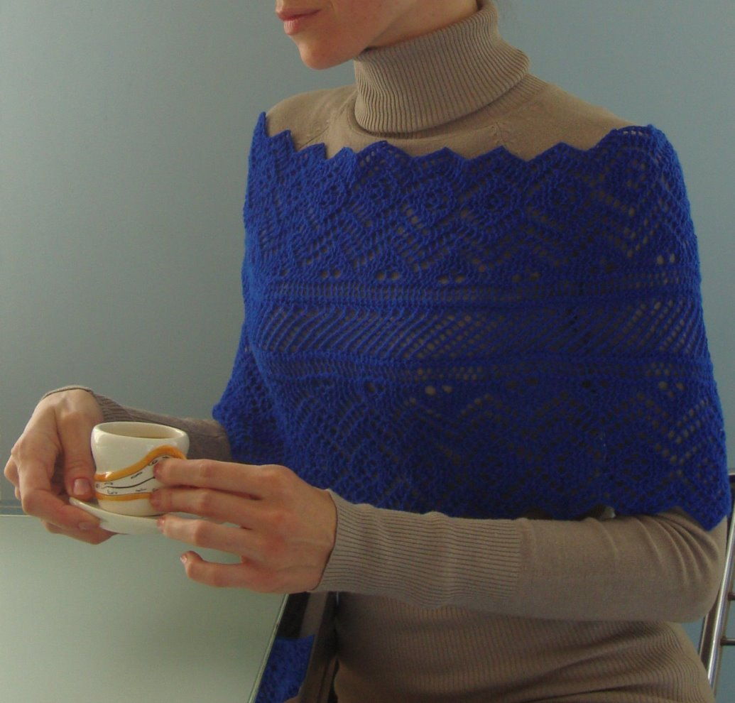 INFINITY: Wrap Knit Pattern - Knit Tutorial in English ...