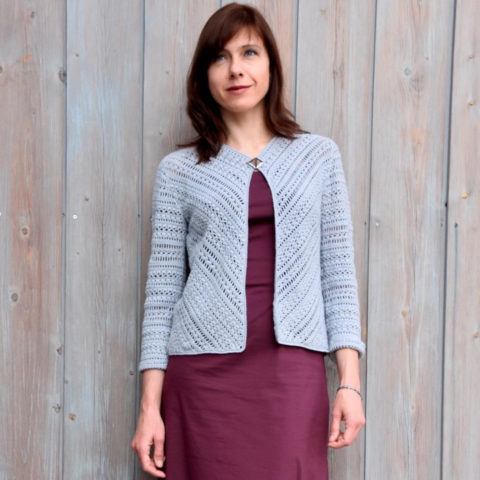 PROGRESSIVE: Crochet Jacket Pattern - Crochet Tutorial in English ...
