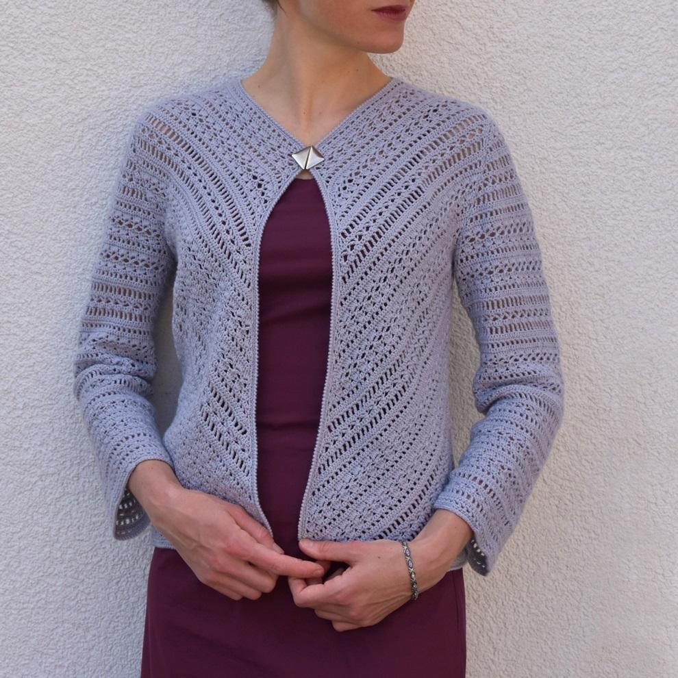 Progressive Crochet Jacket Pattern Crochet Tutorial In English