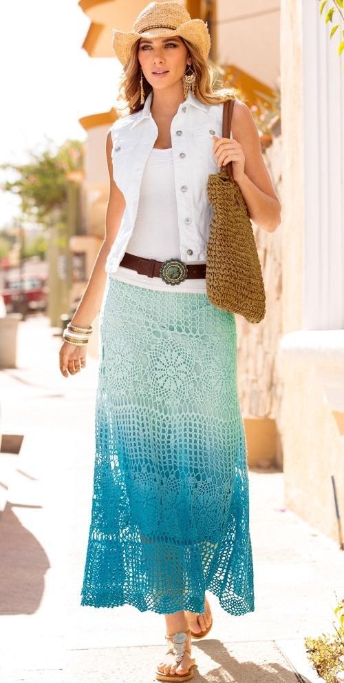 Grace Skirt Crochet Pattern Crochet Tutorial In English