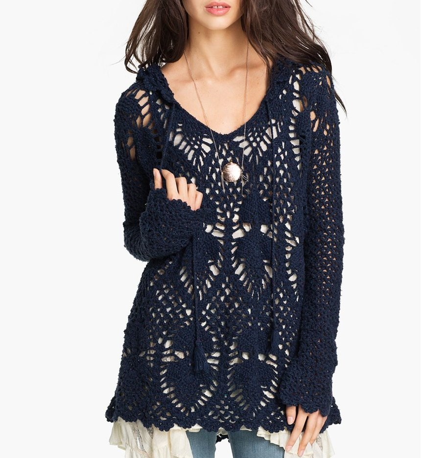 3b75ff97ad121d ATMOSPHERE: Tunic Crochet Pattern - Crochet Tutorial in English ...