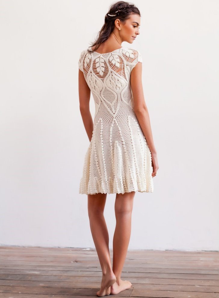 Ailanthus Crochet Dress Pattern Crochet Tutorial In English