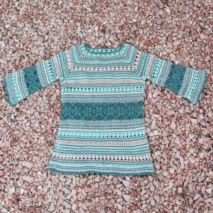 OZONE: Crochet Sweater Pattern – Crochet Tutorial in English