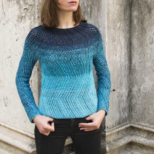 DETOUR: Crochet Sweater Pattern – Crochet Tutorial in English
