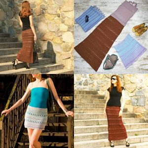 ITERATION: Crochet Skirt Pattern – Crochet Tutorial in English
