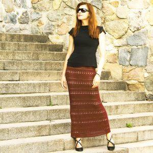 ITERATION: Crochet Maxi Skirt Pattern – Crochet Tutorial in English
