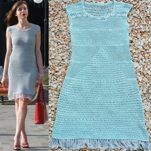 PROPORTIONS: Dress Crochet Pattern – Crochet Tutorial in Englis
