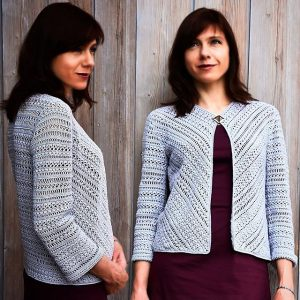 PROGRESSIVE: Cardigan Crochet Pattern – Crochet Tutorial in English