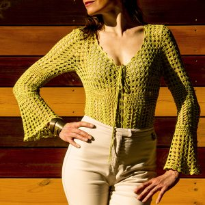 CALLUNA: Crochet Bodysuit Tutorial – Crochet Pattern in English