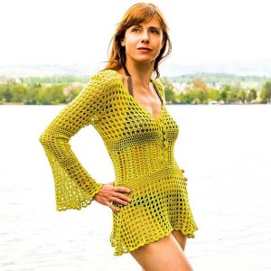 CALLUNA: Crochet Beach Dress Pattern – Crochet Tutorial in English