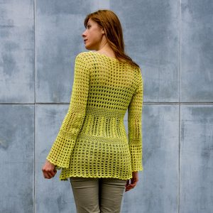 CALLUNA: Crochet Top Pattern – Crochet Tutorial in English