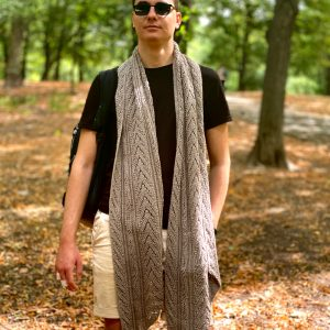 HEURISTIC: Unisex Knit Scarf Pattern – Tutorial in English