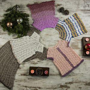 NEW YEAR'S Crochet Top Pattern KIDS – Crochet Tutorial in English