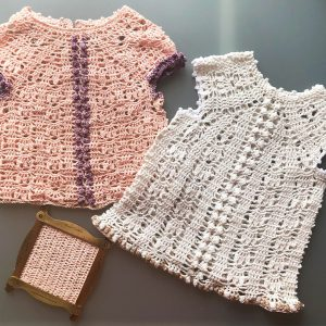NEW YEAR'S Crochet Dress Pattern KIDS – Crochet Tutorial in English