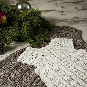 NEW YEAR'S Dress Crochet Pattern KIDS – Crochet Tutorial in English