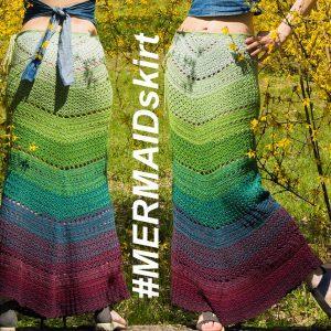 MERMAID: Skirt Crochet Pattern – Crochet Tutorial in English
