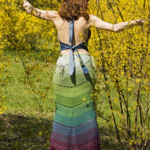 MERMAID: Crochet Maxi Skirt Pattern – Crochet Tutorial in English