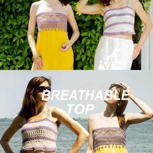 BREATHable top: Crochet Pattern – Crochet Tutorial in English